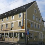 """01 Der Gasthof """"Krone"""" war unser Quartier"""
