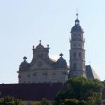 08 Das Kloster von Neresheim aus gesehen
