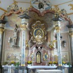 13 Der Hochaltar von St. Sola